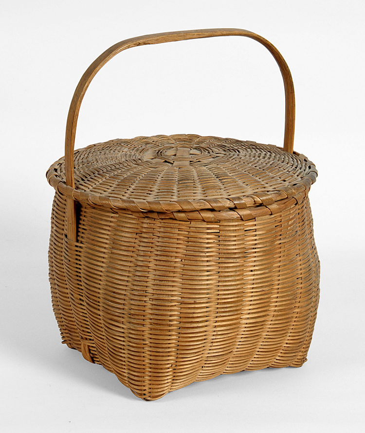 Captured Lid Basket