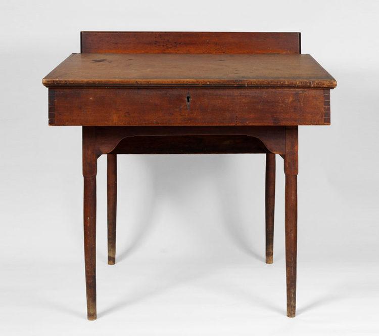 Shaker Desk on Frame - Shaker Furniture-J K Russell Antiques-Dealing In Shaker Since 1979