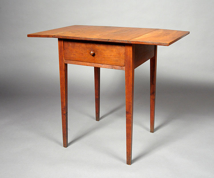 Shaker Drop Leaf Work Table