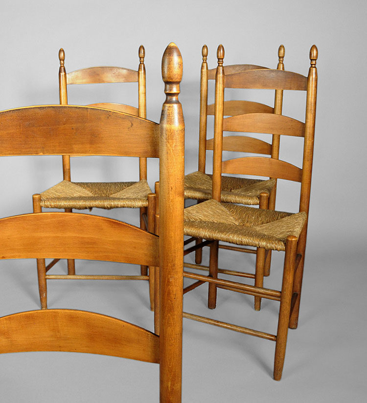 The Last Shaker Chairs – Sold - Shaker Furniture-J K Russell Antiques-Dealing In Shaker Since 1979